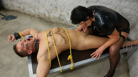 Big mama fucking for the special creampie she gets