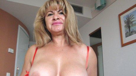 This is Cielito a horny masturbating mature slut