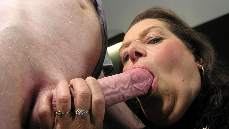 Mature couple fucking and getting nasty