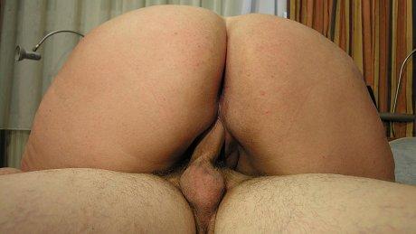 Big titted mama sucking her ass off