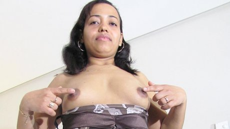 This housewife loves to get wet and wild